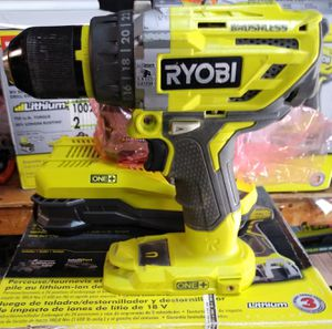 RYOBI 18-Volt ONE+ Lithium-Ion Cordless 1/2 in. Hammer Drill/Driver Kit with (2) 1.5 Ah Batteries, Charger, and Tool Bag for Sale in Temple, GA
