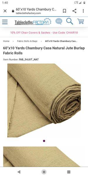 New burlap, read description for Sale in North Kansas City, MO