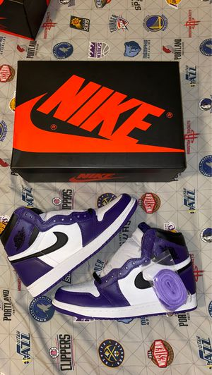 Jordan 1 Retro High Og Court Purple 2.0 for Sale in Lexington, MA