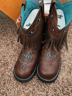 Justin Boots Brand New size 9 for Sale in Eatonville, WA