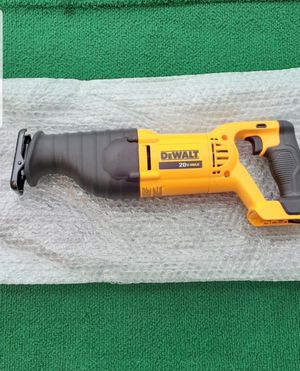 Dewalt 20 volt sawzall tool only price is firm Precio firme for Sale in Industry, CA