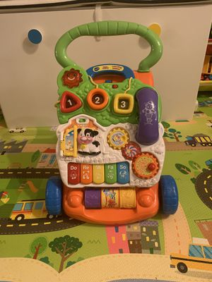 VTech Sit-to-Stand Learning Walker for Sale in Brooklyn, NY