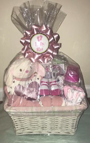 Baby shower gift basket perfect for a baby shower! for Sale in Durham, NC