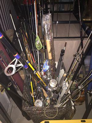 Fishing poles etc for Sale in Huntington Beach, CA