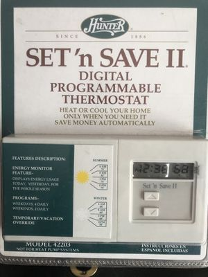 Digital programmable Thermostat for Sale in Nashville, TN