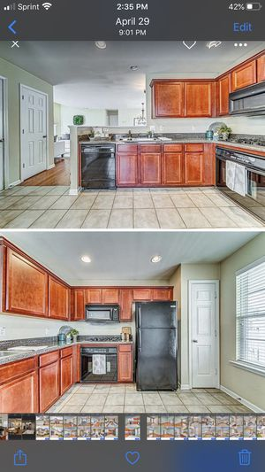 Kitchen appliances . Stove. Microwave . Fridge . Dishwasher . Cabinets . Countertops for Sale in Woodstock, GA