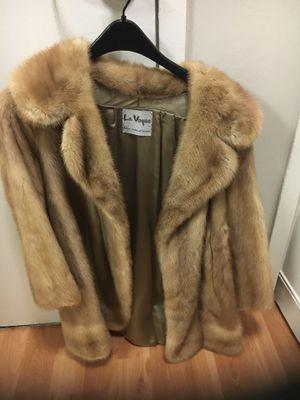 Vintage fur coat, light color for Sale in Arlington, VA