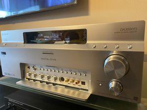 SONY ES STR DA3000ES A/V Receiver Dolby Digital DTS 150 Watts x 7 into 8 ohms for Sale in Glendora, CA