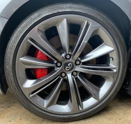 """2016 2017 2018 2019 2020 INFINITI Q60 20"""" RED SPORT WHEELS 5X114.3 for Sale in Fort Lauderdale,  FL"""