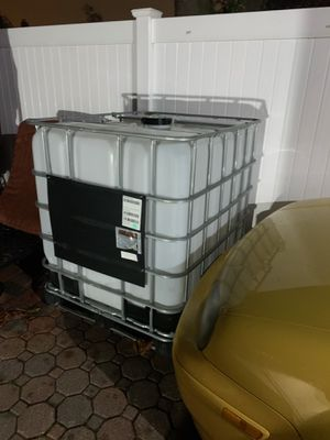 IBC tote water tank for Sale in Rockville Centre, NY