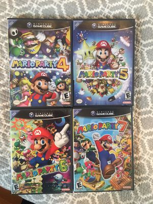 Mario Party 4-7 Nintendo GameCube for Sale in Baltimore, MD