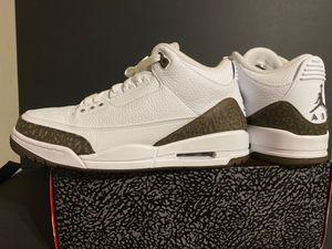 Jordan 3 retro mocha size 11 for Sale in Burbank, CA