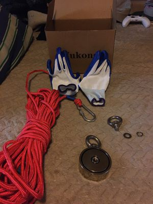 Wukong Magnet fishing set 750lb for Sale in Portland, OR