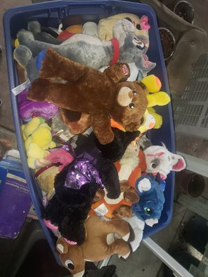 Large bag of stuffed animals for Sale in La Habra, CA