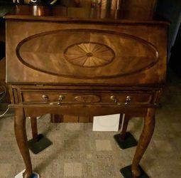 Secretary Desk Brown Cherry for Sale in Bensalem,  PA