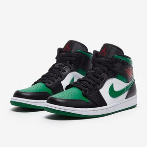 Air Jordan 1 Mid 'Green Toe' US Men's 12 for Sale in Center Moriches, NY