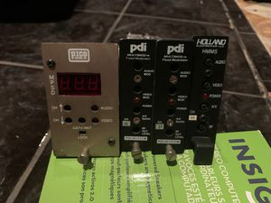Pdi sat holland modular cable satellite channel for Sale in Los Angeles, CA