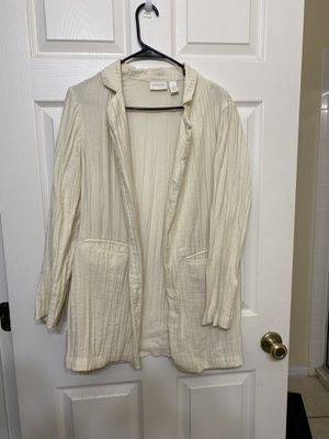 Cream blazer for Sale in Clermont, FL