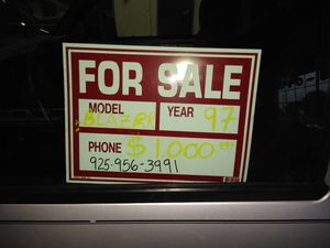 Chevy Blazer 97 for Sale in Martinez, CA