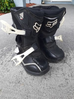 Fox Mx boots K10 youth for Sale in Port St. Lucie, FL
