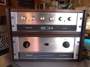 Rare Crown DC300 amp & preamp in walnut for Sale in Puyallup, WA