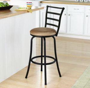 Tan Bar Stool Kitchen Nook Chair Set for Sale in Renton, WA