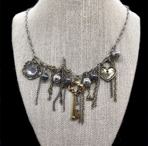 Erica Lyons Multi Charms Chain Necklace for Sale in Croton-on-Hudson, NY