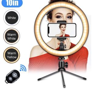 10 inch NEW ring light With remote for Sale in Naugatuck, CT