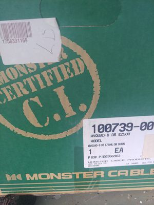 Huge spool of monster coaxial cable for Sale in Smyrna, TN