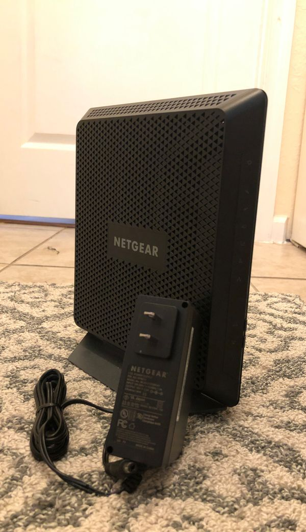 Netgear C6900 WiFi Cable Modem Router Like New No Box