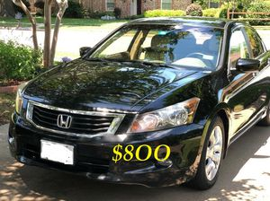 🍁🔥$8OO URGENT I sell my family car 2OO9 Honda Accord Sedan V6 EX-L 𝓹𝓸𝔀𝓮𝓻 𝓢𝓽𝓪𝓻𝓽 Runs and drives very smooth🍁🔥 for Sale in Chattanooga, TN