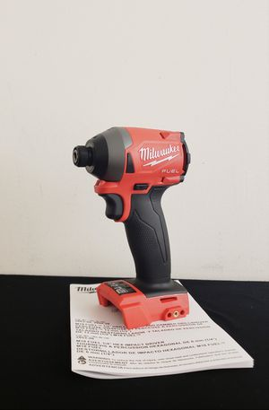 New Impact Drill Milwaukee Fuel ONLY TOOL NO CHARGER OR BATTERIES FIRM PRICE for Sale in Woodbridge, VA