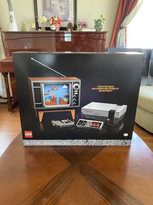 Lego Super Mario: Nintendo Entertainment System (71374) in hand no trade for Sale in Anaheim, CA