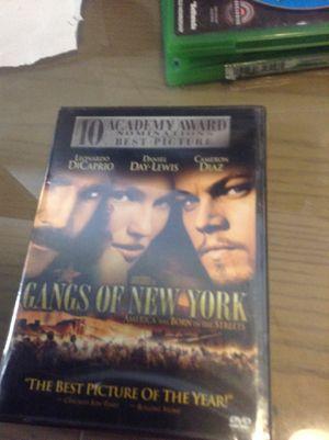 DVDs gangs of New York for Sale in Hialeah, FL