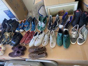 Men's Nike Vans converse puma Reebok size 12-13-14 for Sale in Modesto, CA