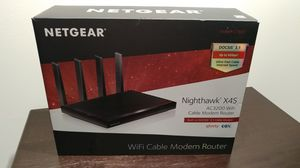 Netgear Nighthawk X4S AC3200 Wifi Cable Modem Router for Sale in Columbia, MD