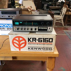 Kenwood KR6160 stereo receiver in original box for Sale in Bellingham, MA