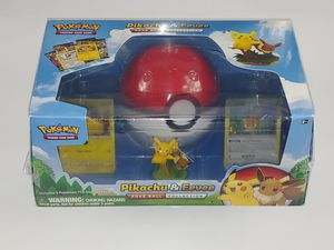 Pikachu & Eevee Pokeball Collection Pokemon for Sale in Carrollton, TX