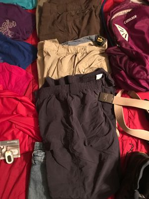 Hiking apparel and backpack for Sale in Orland Hills, IL