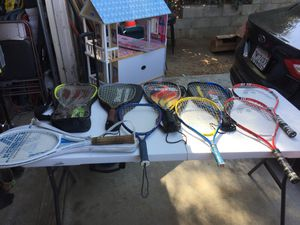 Tennis and racquet ball rackets for Sale in Lake Elsinore, CA