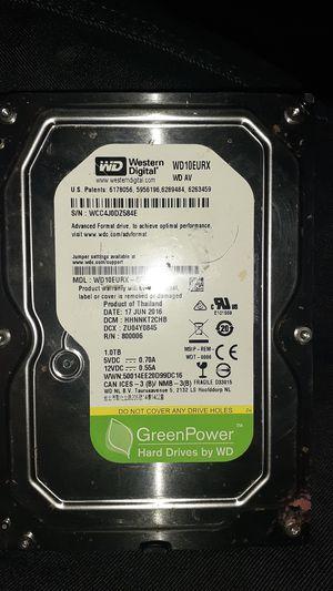 """Western Digital WD10EURX-63FH1Y0 - 1TB 7.2K RPM SATA 3.5"""" Hard Drive HDD for Sale in Los Angeles, CA"""