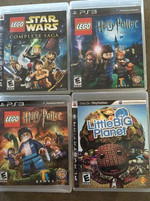 PS3 Games for kids - Set of 4 for Sale in Austin, TX