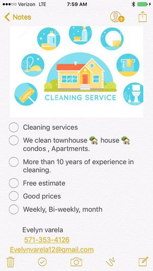 Cleaning services for Sale in Alexandria, VA