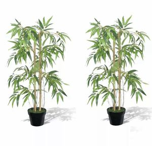 NEW Artificial Bamboo Tree Fake Plant with Pot for Home Office Indoor Outdoor for Sale in Phoenix, AZ
