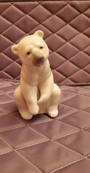 Lladro Polar Bear Figurine #1208 for Sale in Delray Beach, FL