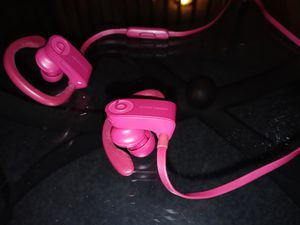 Pink Wireless Bluetooth Beat By Dre Powerbeats 3 for Sale in Kenneth City, FL
