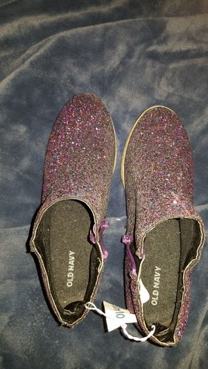 Brand new with tag purple glitter boots for girls size 5 . for Sale in Los Angeles, CA
