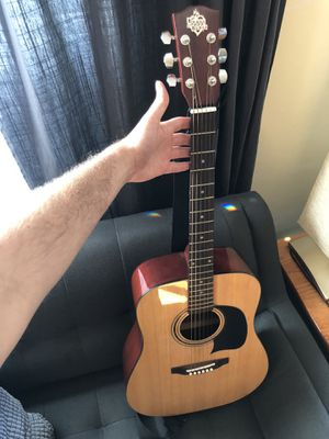 Washburn HOBA House of Blues Edition Acoustic Guitar with Gig Bag for Sale in Seattle, WA