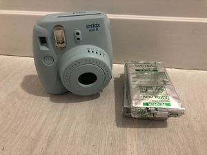 Blue Instax Mini 8 with 2 Packs of Flim for Sale in Fort Lauderdale, FL