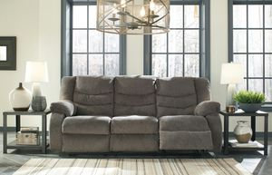 Ashley Furniture Reclining Sofa, Gray for Sale in SANTA ANA, CA